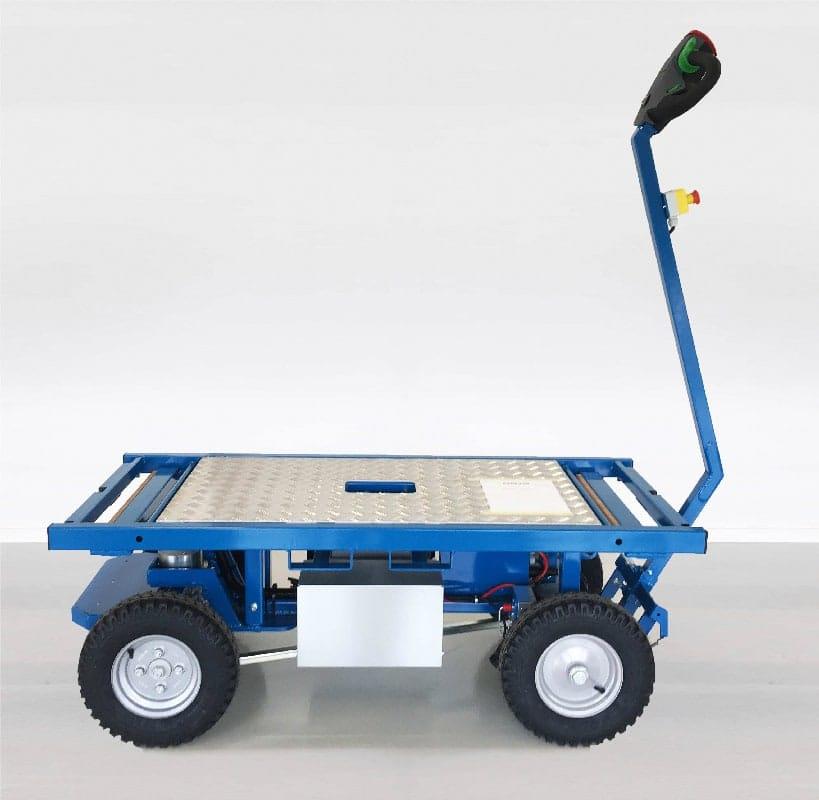 Elektrischer Transportwagen ErgoMover Go mieten und kaufen Batteriebetriebener Elektro Transportwagen