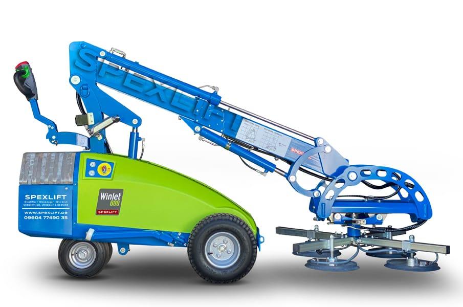 Glaslifter Winlet 600 Verglasungsroboter mieten