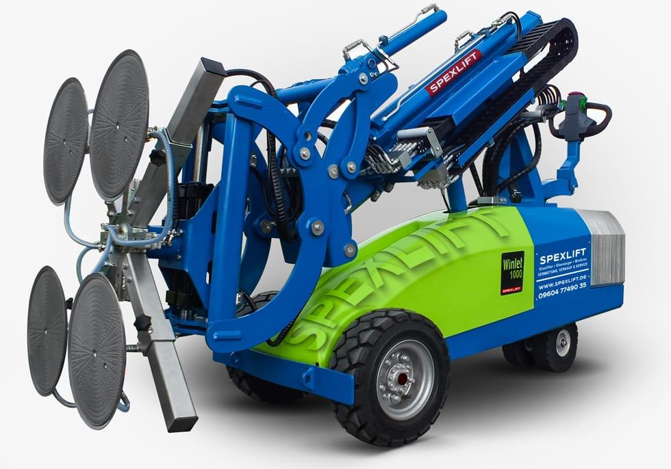 Glasroboter Winlet 1000 Verglasungsroboter mieten | Glaslifter kaufen