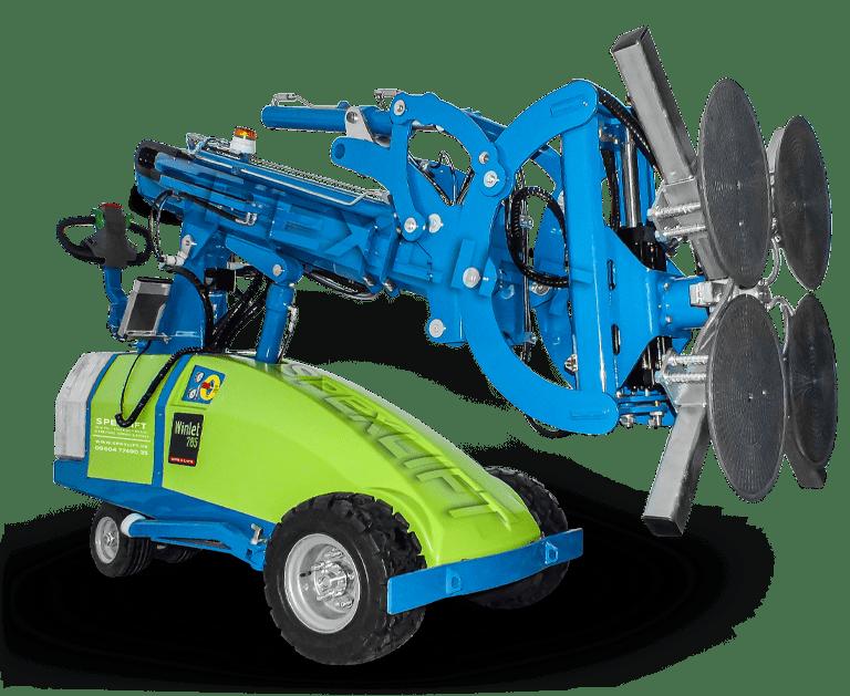 Winlet 785 Glaslifter | Verglasungsroboter mieten und kaufen | Spexlift Glasroboter