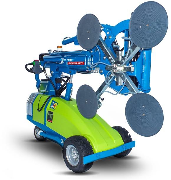 Glasroboter Winlet 785 Verglasungsroboter Montage seitlich