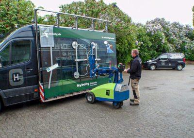 Winlet 350 Glasroboter Glasmontage Glaslifter mieten und kaufen