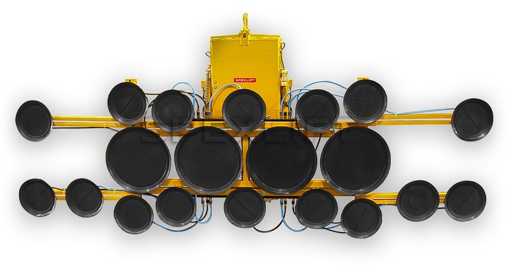 Sauganlage DSMH2-12V Glassauger 2000kg