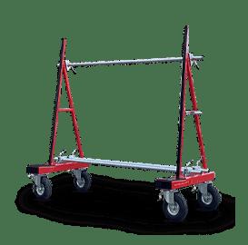 Glastransportwagen Luftbereift / Abgesenkt mieten und kaufen Plattenwagen und Glaswagen