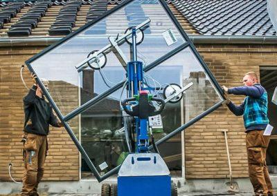 Winlet 350 Glaslifter für Fenstermontage