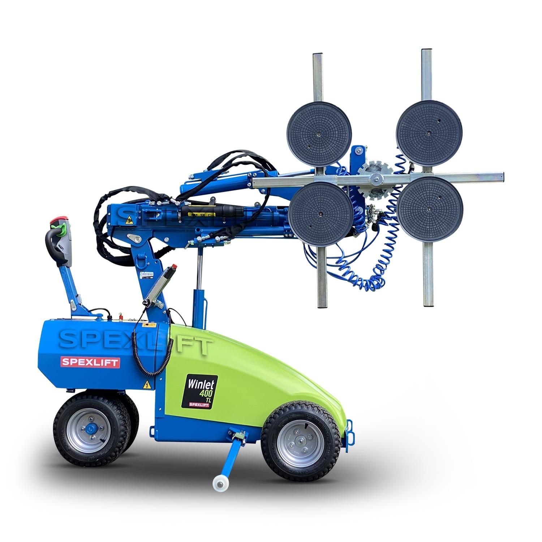 Winlet 400 Glasroboter für Glasmontage