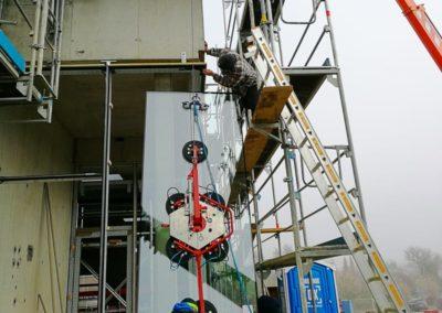 Glasmontage Glassauger bis 600 kg mieten